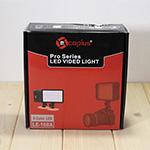 カメラ撮影用LED照明、YN160SとLOE168Aで性能比較してみた。