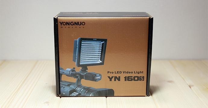 カメラ撮影用LED照明、YN160Sについて。