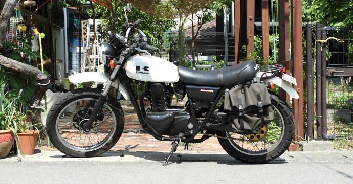 バイクのチェーン掃除を簡単にする方法。