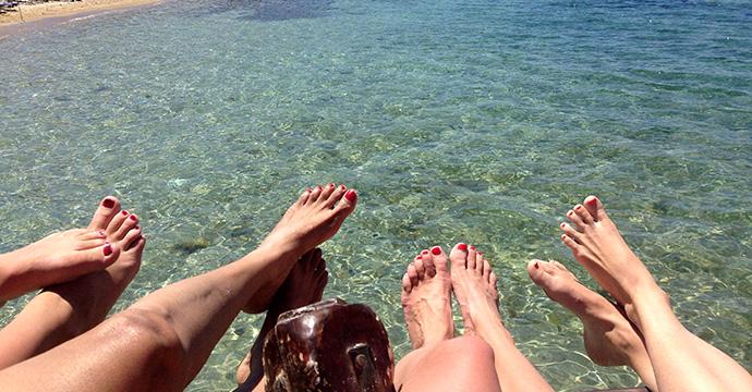 夏の海遊び!海水浴にシュノーケリングセットを持って行こう。