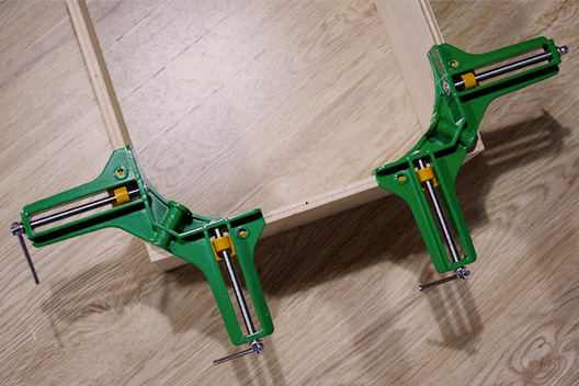 SK11 コーナークランプ 使い方
