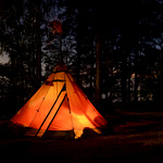 タープとテント共通で使えるロープの選び方!補助アイテムもご紹介。
